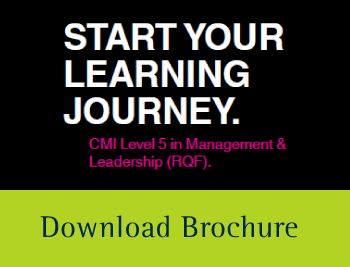 Download the CMI Level 5 Brouchure